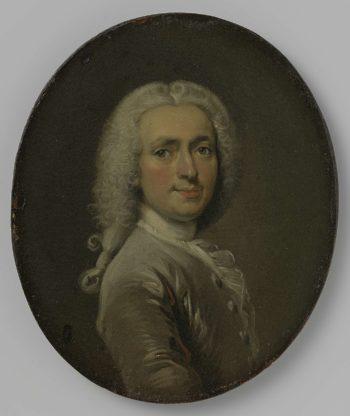 Self Portrait. 1715 - 1730 | Cornelis Troost | oil painting