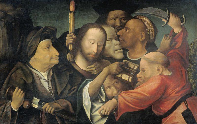The capture of Christ.. ca. 1530 - ca. 1550 | Jheronimus Bosch | oil painting