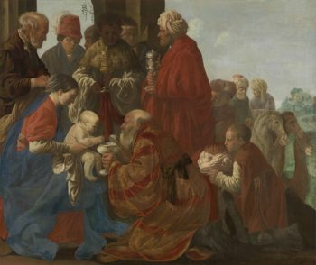 The Adoration of the Magi. 1619 | Hendrick ter Brugghen | oil painting