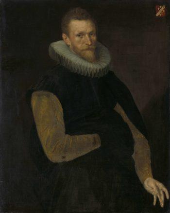 Jacob Cornelisz Banjaert called van Neck (1564-1638). Admiral