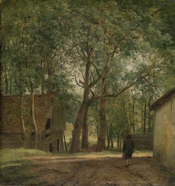 Farmyard. ca. 1820 - ca. 1830 | Andreas Schelfhout | oil painting