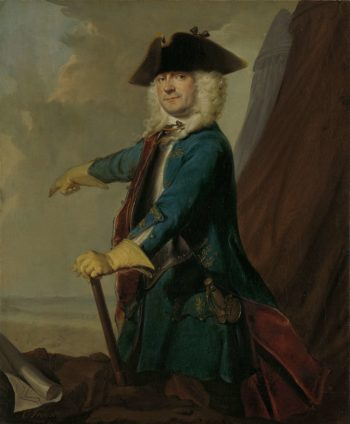 Gerrit Sichterman (1688-1730). Quartermaster-general of the cavalry