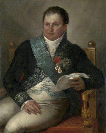 Portrait of Isaac Jan Alexander Gogel. ca. 1811 - ca. 1813 | Mattheus Ignatius van Bree | oil painting