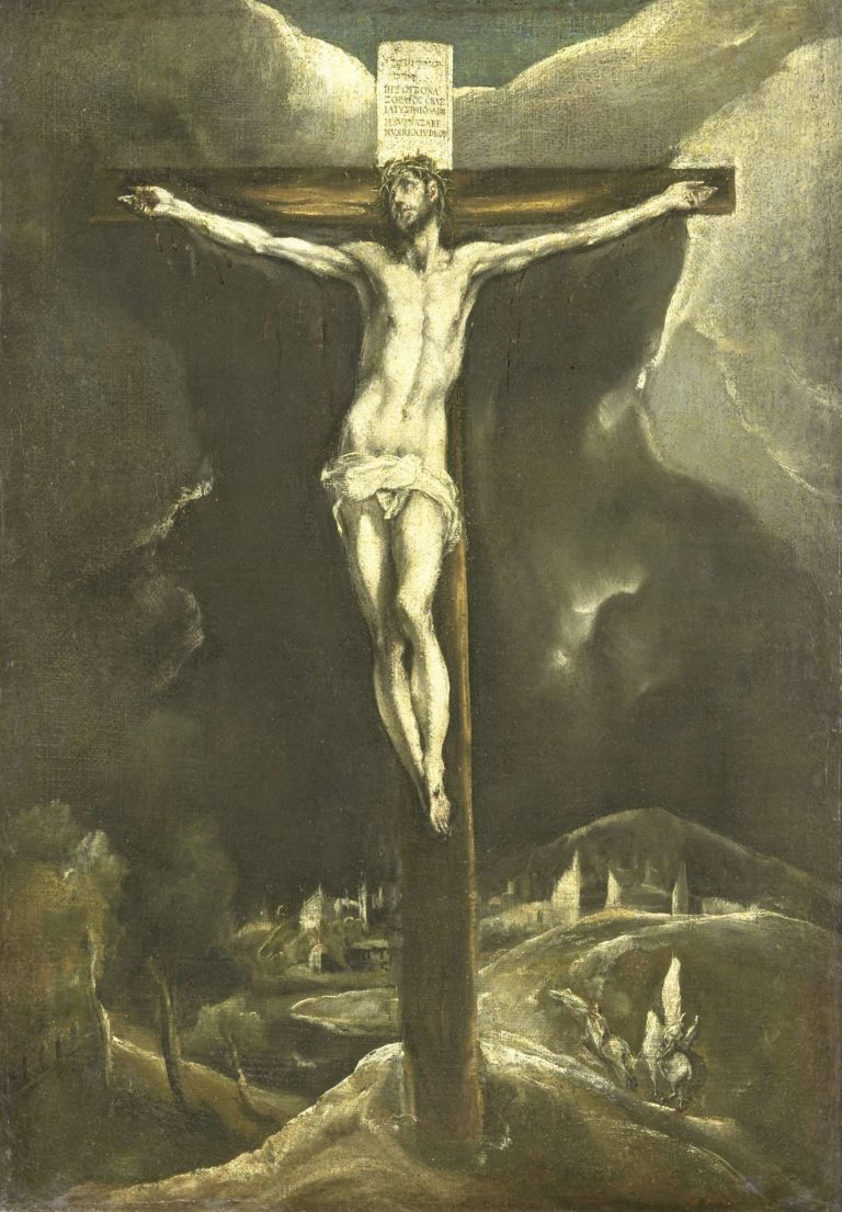 Christ on the cross. 1600 - 1615 | el Greco | oil painting