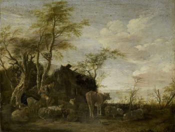 Shepherd Shut. 1645 | Paulus Potter | oil painting