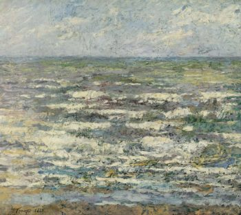 The Sea near Katwijk. 1887 | Jan Toorop | oil painting
