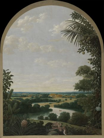 Landscape in Brazil. 1652 | Frans Jansz. Post | oil painting