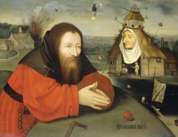 The Temptation of Saint Anthony the Hermit.. ca. 1550 - ca. 1600 | Jheronimus Bosch | oil painting