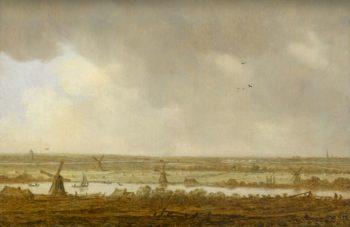 Polderlandschap. 1644 | Jan van Goyen | oil painting