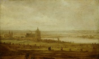 View of Arnhem. ca. 1644 | Jan van Goyen | oil painting