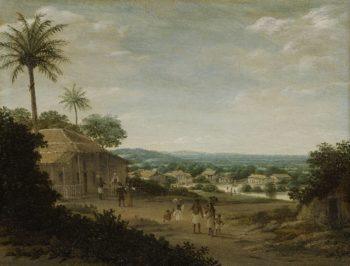 Brazilian Village. 1675 - 1680 | Frans Jansz. Post | oil painting
