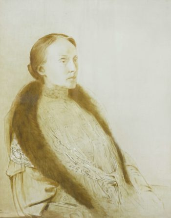 A.M.L. Bonger van der Linden. First wife of the collector Andr? Bonger. 1905 | Odilon Redon | oil painting