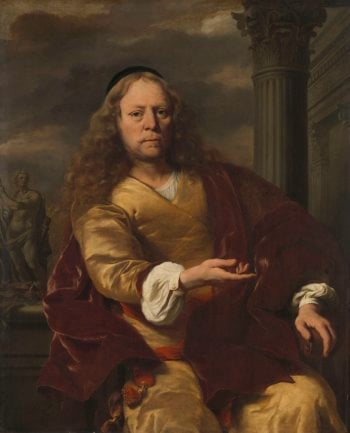 Portrait of a man. 1663 | Ferdinand Bol | oil painting