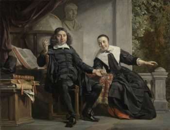 Abraham Casteleyn and his Wife
