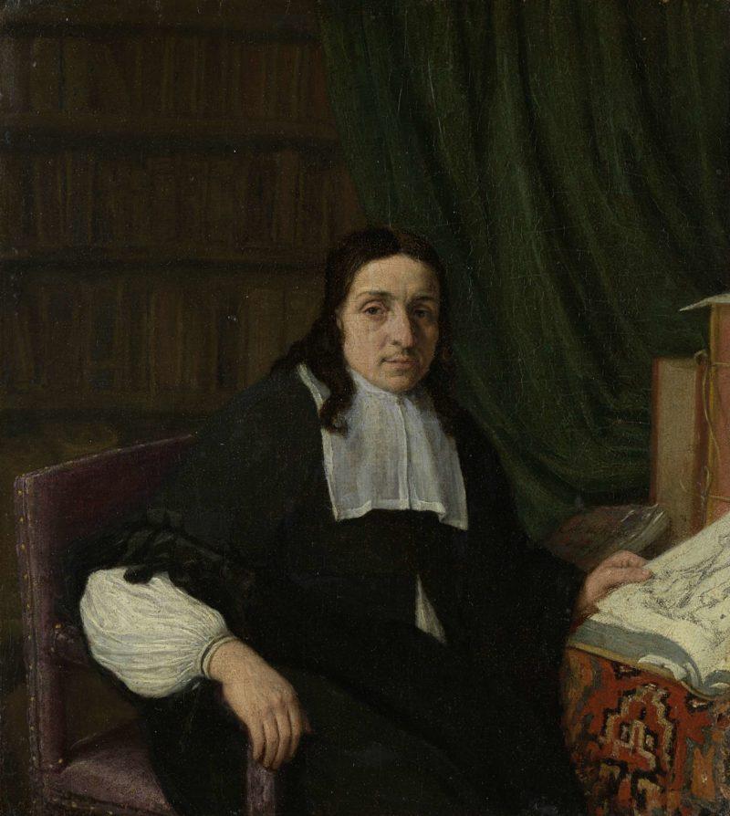 Portrait of a scholar. 1665 | Adriaen van Ostade | oil painting