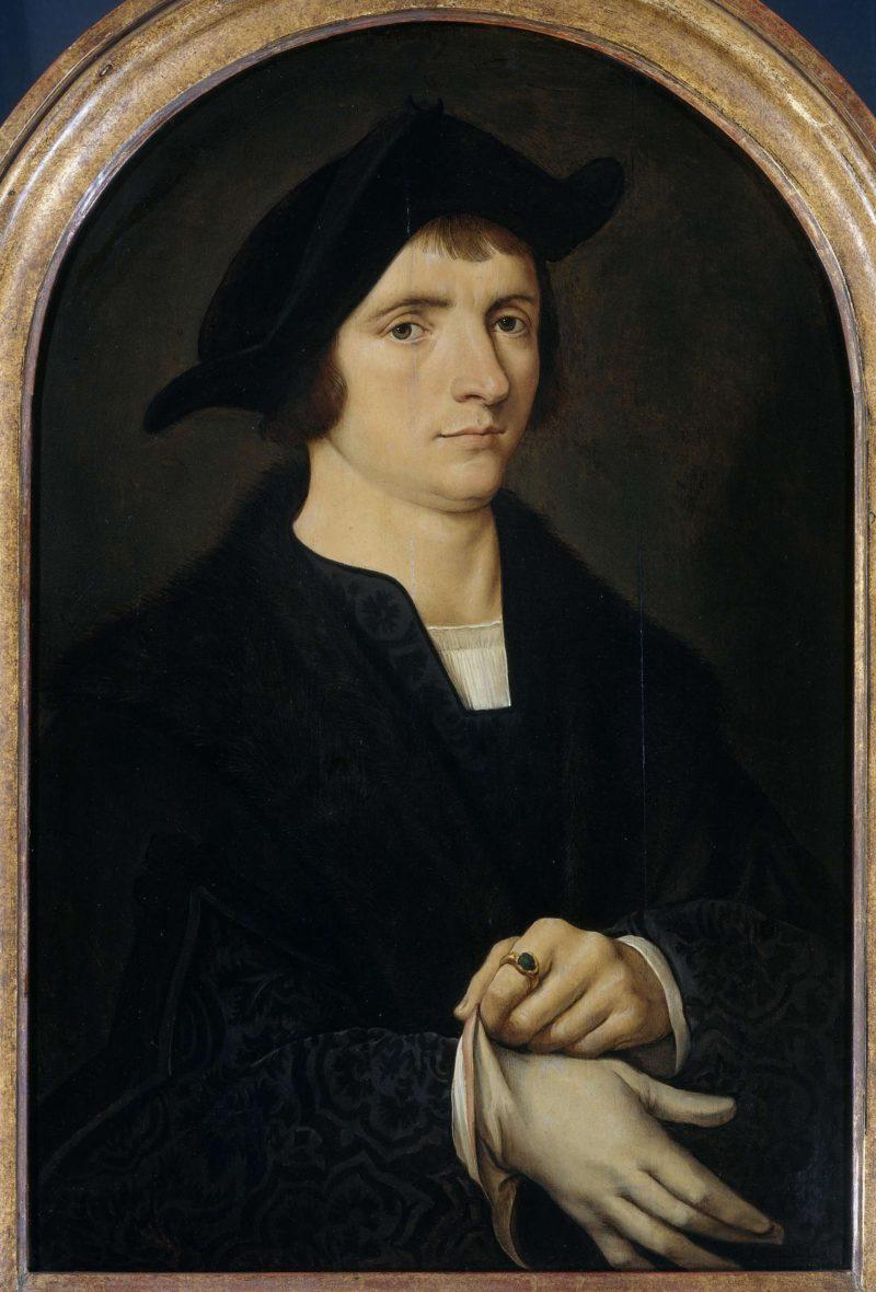 Portrait of George Vezeleer. after c. 1518 | Joos van Cleve | oil painting
