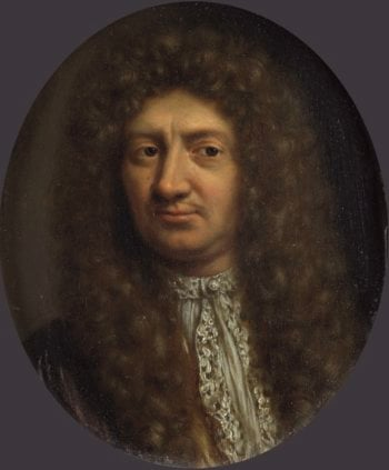 Portrait of a man. 1660 - 1681 | Willem van Mieris | oil painting