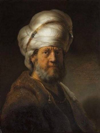Man in Oriental Dress. 1635 | Rembrandt Harmensz. van Rijn | oil painting
