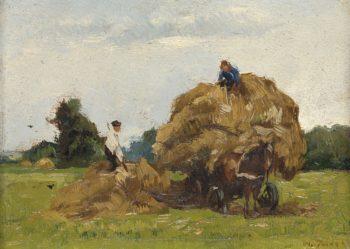 Daddy longlegs. 1885 - 1931 | Willem de Zwart | oil painting