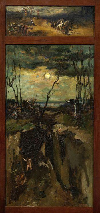 The Crucifixion. 1900 - 1931 | Willem de Zwart | oil painting