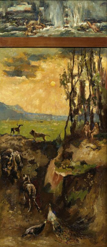 The Flood. 1900 - 1931 | Willem de Zwart | oil painting