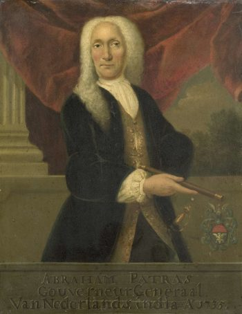 Abraham Patras (1671-1737). Governor-General (1735-37). 1735 - 1800 | Theodorus Justinus Rheen | oil painting