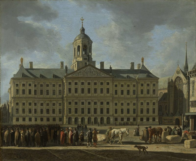 The Town Hall on Dam Square
