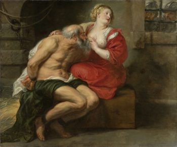 Cimon and Pero. 1630 - 1640 | Peter Paul Rubens | oil painting