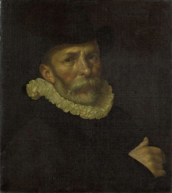 Dirck Barendsz (1534-92). Painter. 1590   Cornelis Ketel   oil painting