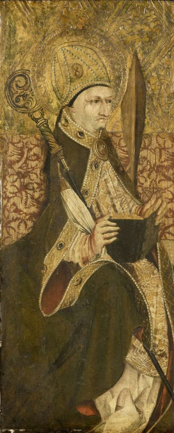 A holy bishop. 1475 - 1499 | Anonymous | oil painting