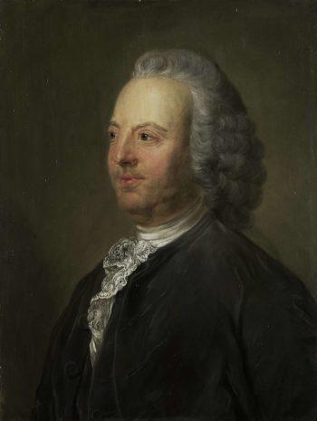 Antoni Warin (1712-64). Ships from Amsterdam. 1763 - 1850 | Jean Baptiste Perroneau | oil painting