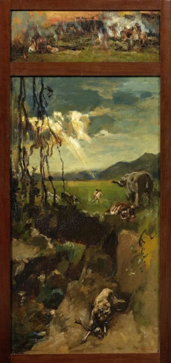 The Expulsion from Paradise. 1900 - 1931 | Willem de Zwart | oil painting