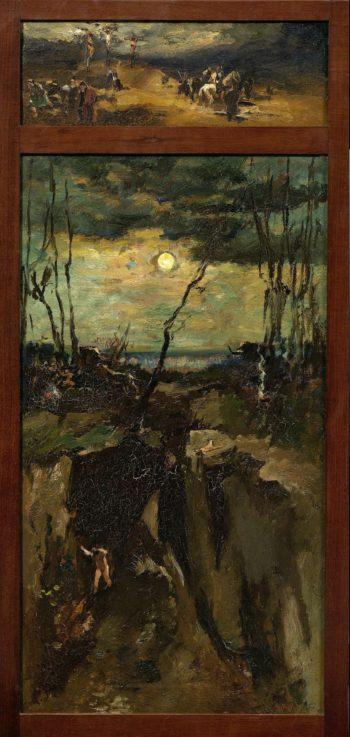 Cain and Abel. 1900 - 1931 | Willem de Zwart | oil painting