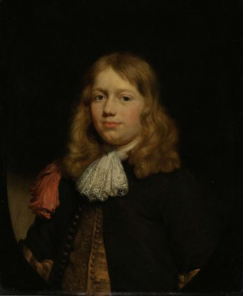 Portrait of a young man. 1670 - 1680 | Nicolaes Maes | oil painting