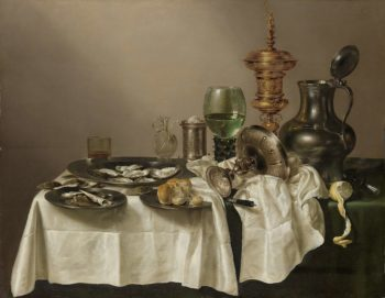 Still Life with a Gilt Cup. 1635 | Willem Claesz. Heda | oil painting