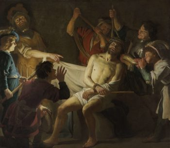 Christ Crowned with Thorns. ca. 1622 | Gerard van Honthorst | oil painting