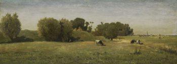 Landscape at Abcoude. 1860 - 1870 | Paul Joseph Constantin Gabri?l | oil painting