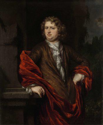 Portrait of Pieter Groenendijk. 1677 - 1685   Nicolaes Maes   oil painting