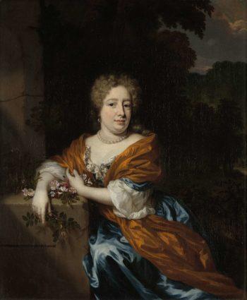 Portrait of Petronella Dunois. 1677 - 1685   Nicolaes Maes   oil painting