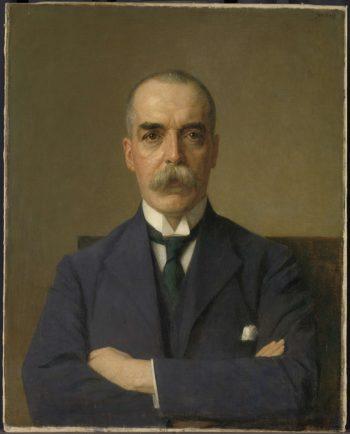 Portrait of Isaac de Bruijn (1873-1953). 1922 | Jan Veth | oil painting