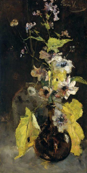Anemones. 1888 | Floris Verster | oil painting
