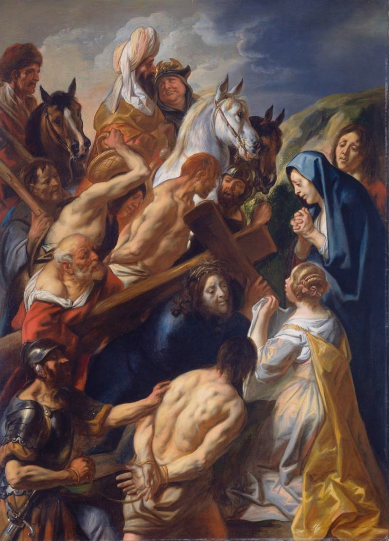 The Calvary. 1657 | Jacob Jordaens (I) | oil painting