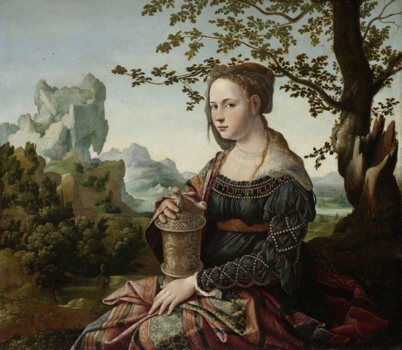 Mary Magdalene. ca. 1530 | Jan van Scorel | oil painting