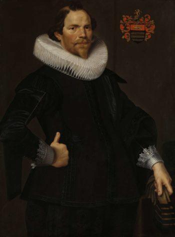 Portrait of Pieter van Son. ca. 1622 - ca. 1629 | Nicolaes Eliasz. Pickenoy | oil painting