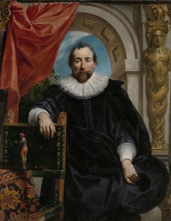 Portrait of Rogier Le Witer. 1635   Jacob Jordaens (I)   oil painting