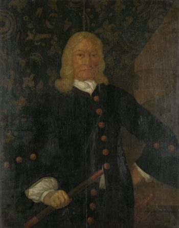 Portrait of Governor-General Willem van Outshoorn. 1691 - 1710 | Anonymous | oil painting