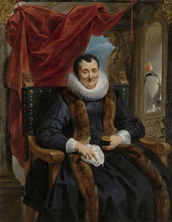 Portrait of Magdalena de Cuyper. ca. 1635 - ca. 1636   Jacob Jordaens (I)   oil painting
