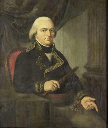 About Pieter Gerardus van Straten (1755-1801). Governor-General (1797-1801). 1802 - 1820 | Adriaan de Lelie | oil painting
