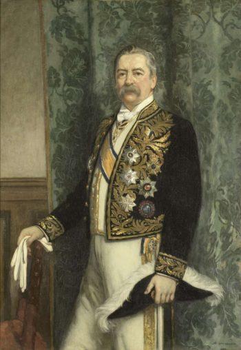 Willem Rooseboom (1843-1920). Governor-General (1899-1904). 1905   Hendrik Johannes Haverman   oil painting