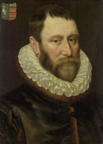 Jacob Claesz Bass (1536-89). Mayor of Amsterdam. 1586 | Adriaen Thomasz. Key | oil painting